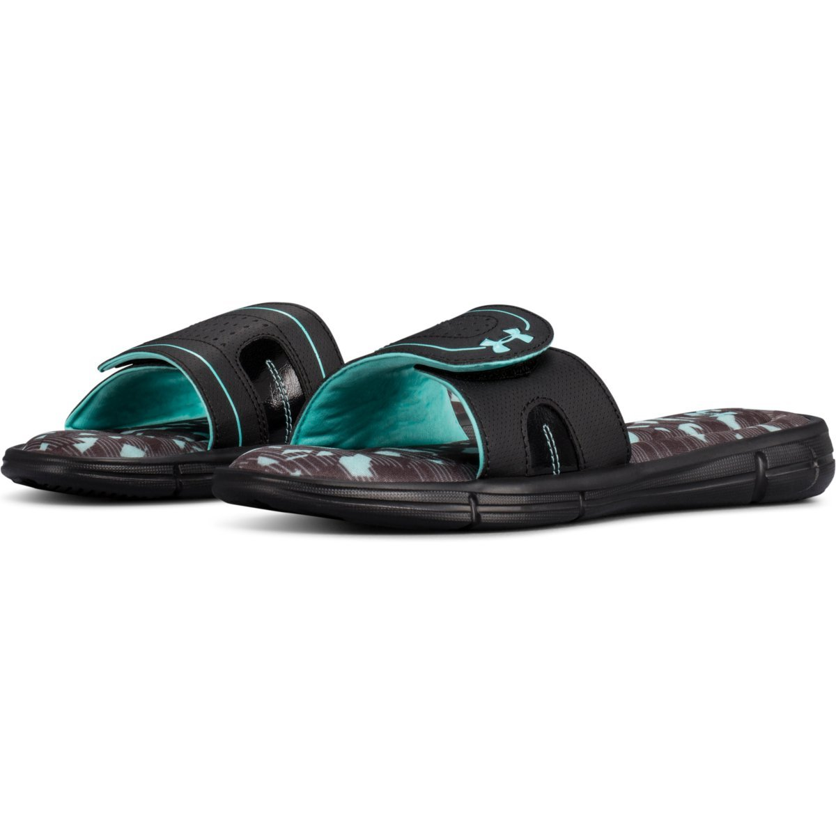 6544f4e6 UNDER ARMOUR Women's Ignite VIII Edge Slide Sandals - Bob's Stores