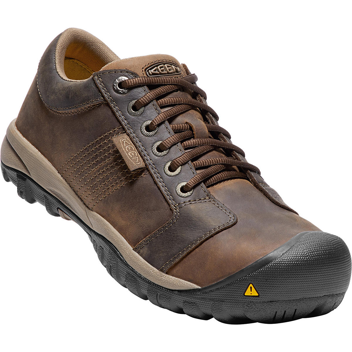 Keen Men's La Conner Esd Aluminum Toe Work Shoes - Brown, 8.5