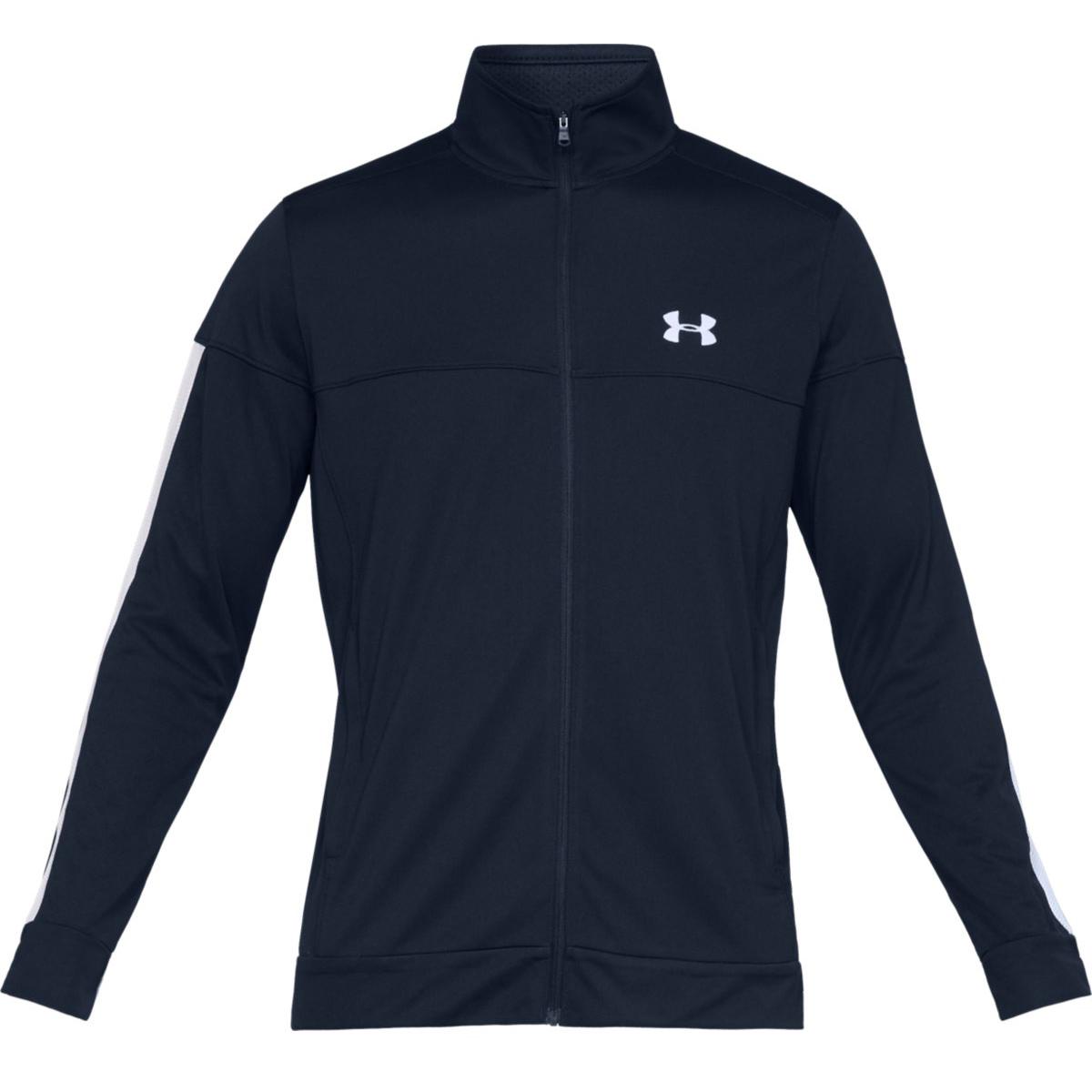 Under Armour Men's Ua Sportstyle Pique Jacket - Blue, XXL