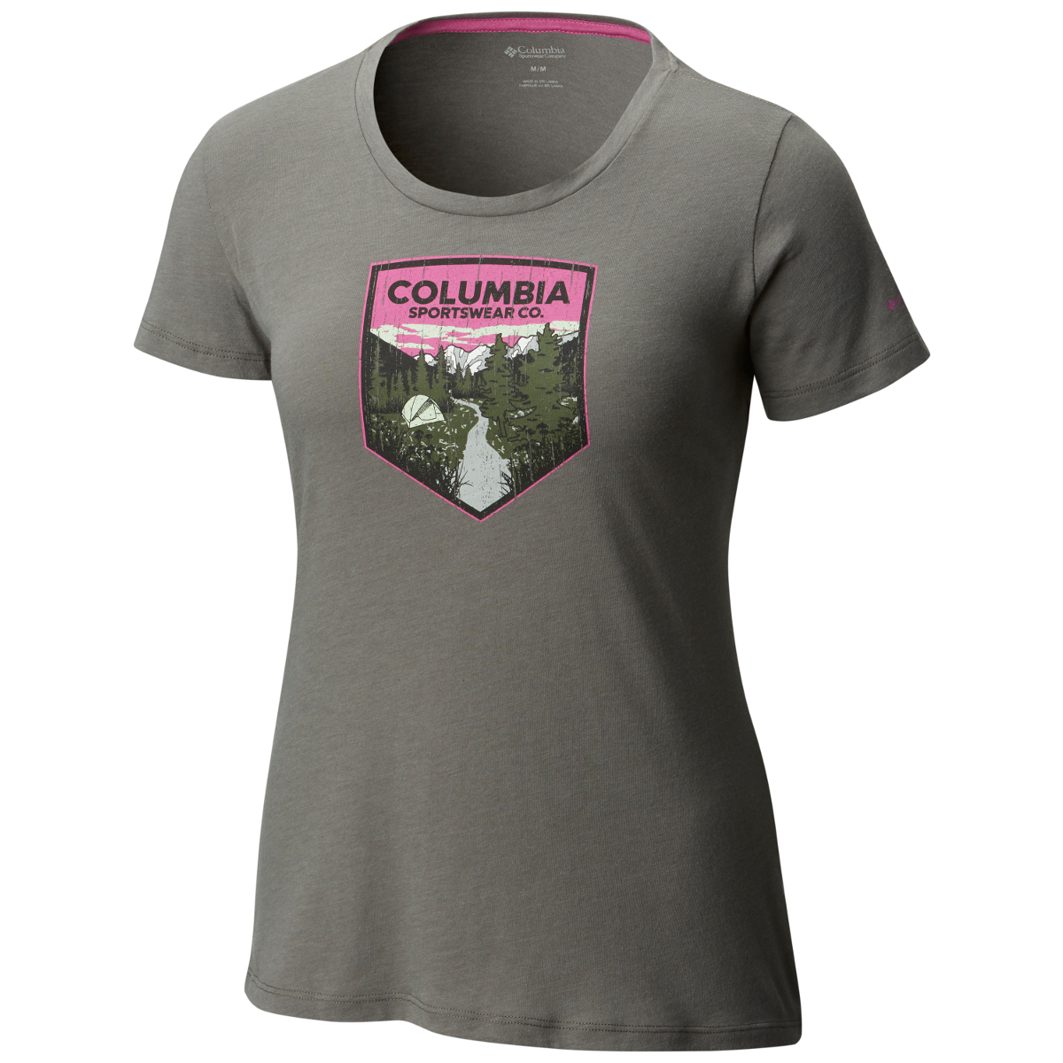 Columbia Women's Columbia Badge Tee - Black, XL