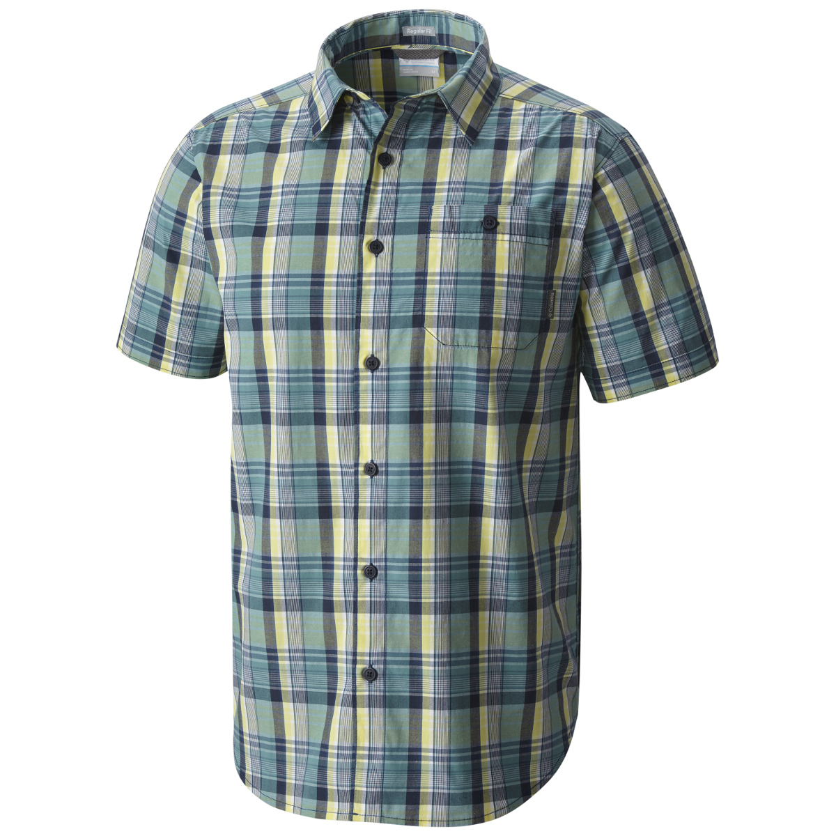 Columbia Men's Boulder Ridge Short-Sleeve Shirt - Black, XL