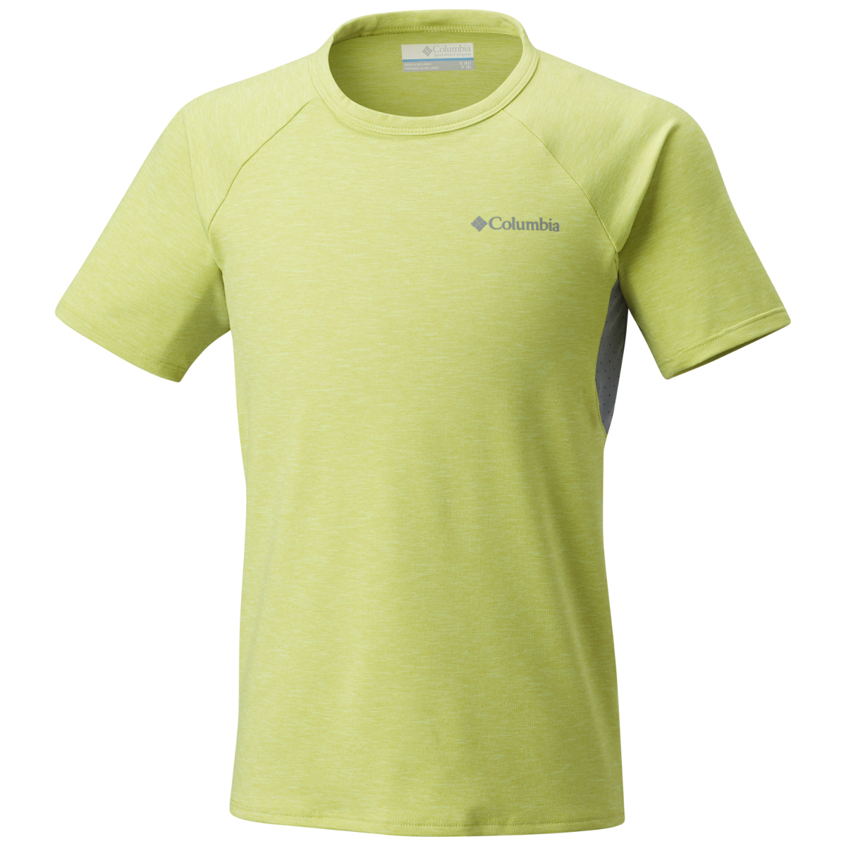 Columbia Big Boys' Silver Ridge Ii Short-Sleeve Tee - Green, L