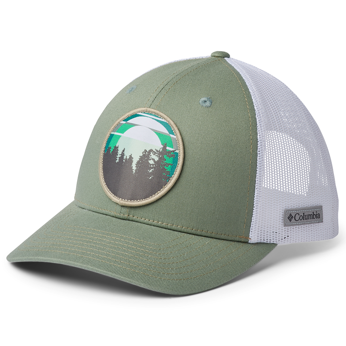 Columbia Women's Snap Back Hat - Green, ONESIZE
