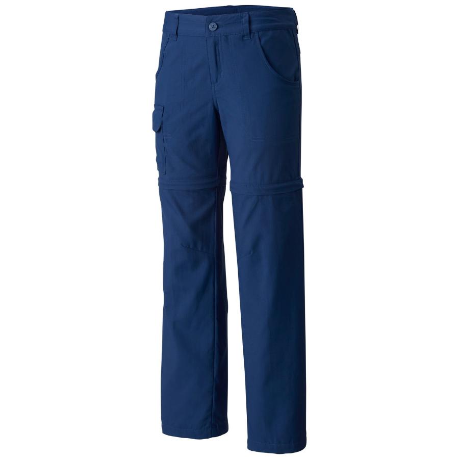 Columbia Big Girls' Silver Ridge Iii Convertible Pants - Black, M
