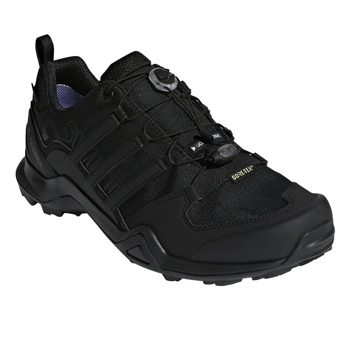 Adidas Men's Terrex Swift R2 Gtx Hiking Boots - Black, 12.5