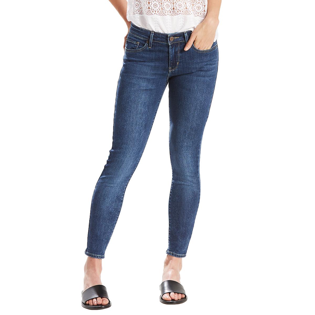 Levi's Women's 711 Skinny Ankle Jeans - Blue, 30