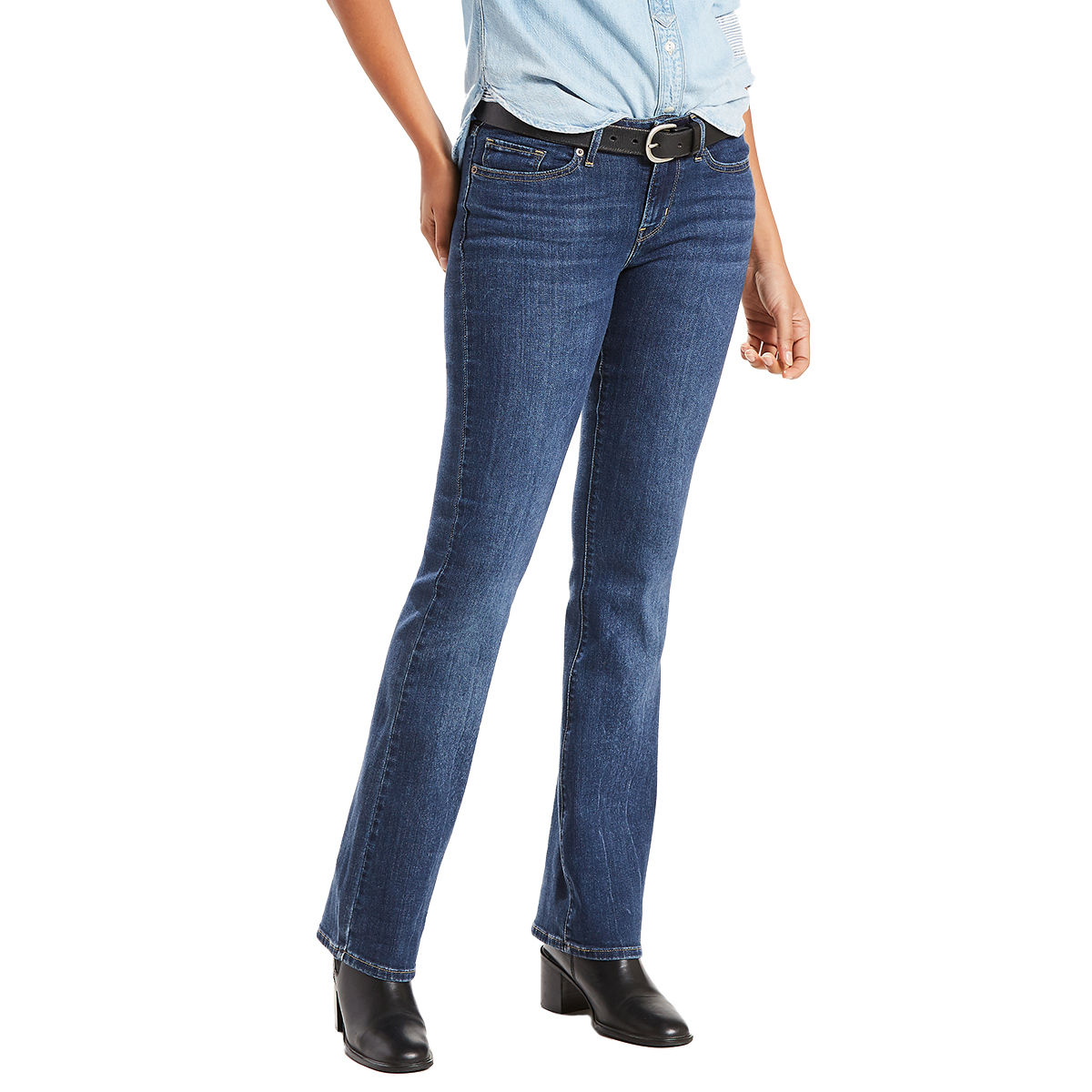Levi's Women's 715 Vintage Boot Cut Jeans - Blue, 32