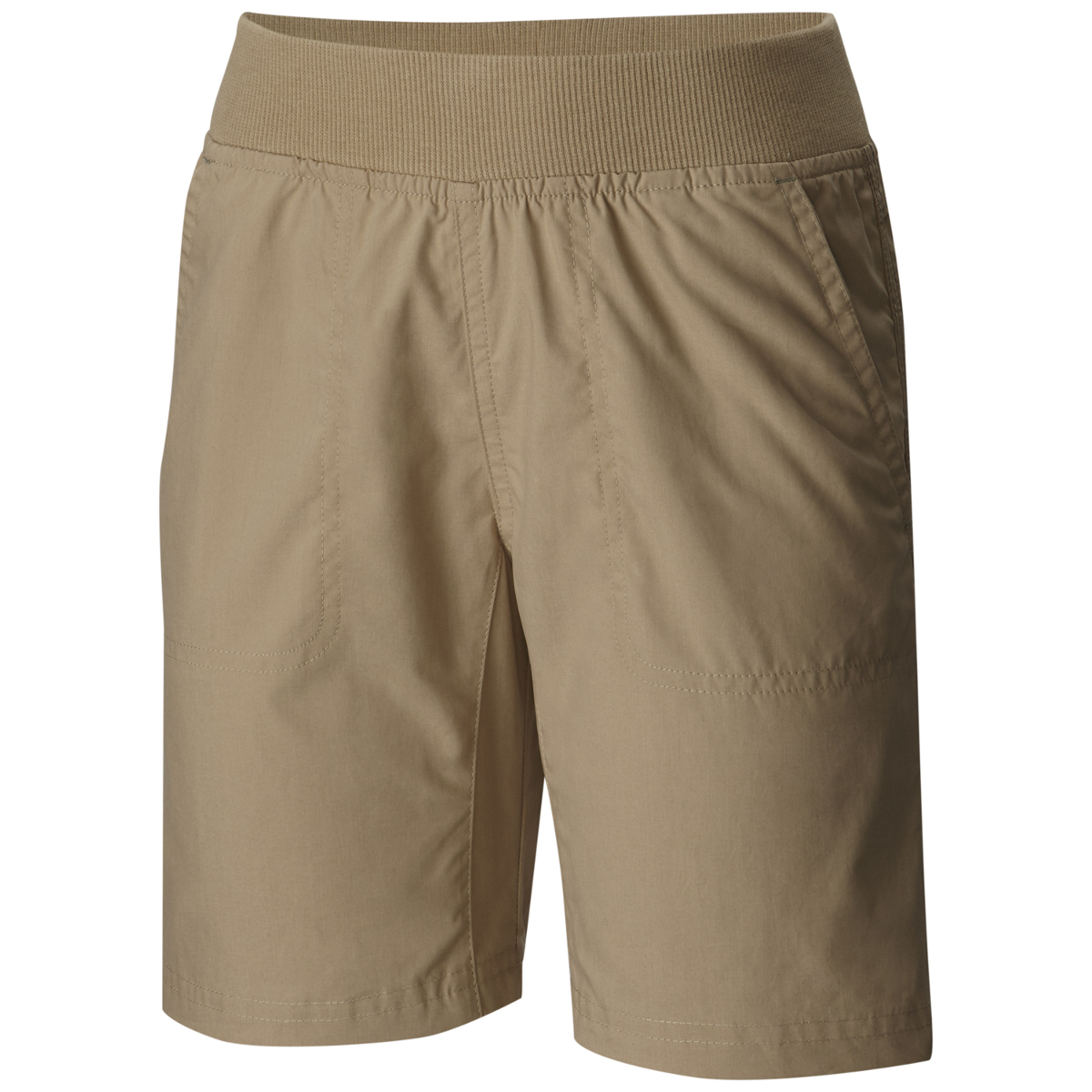 Columbia Boys' 5 Oaks Ii Pull-On Shorts - Brown, L