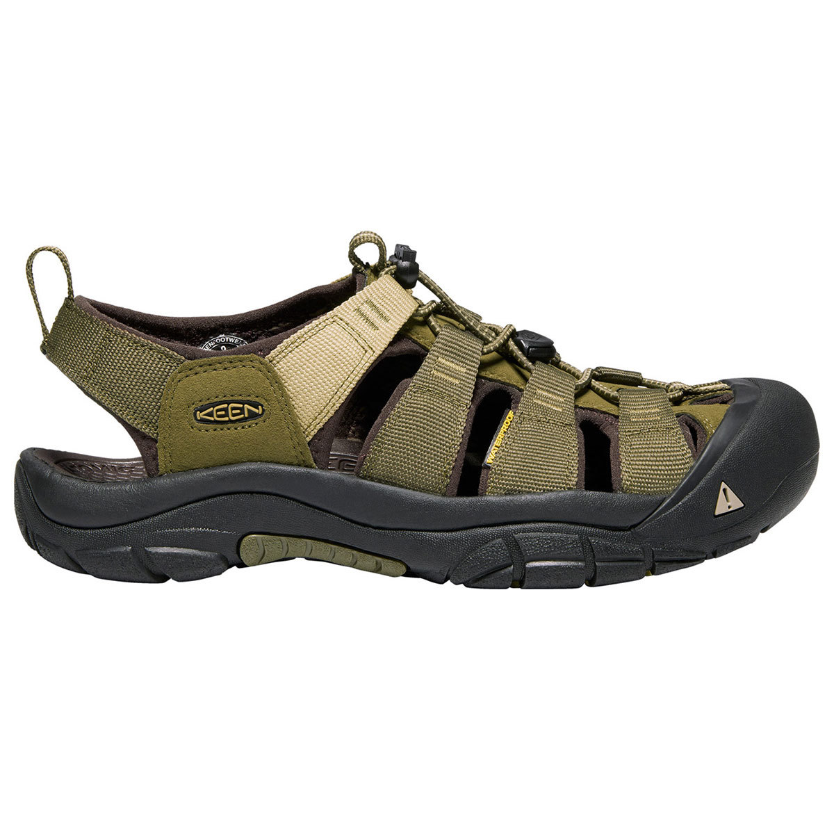 Keen Men's Newport Hydro Sandals - Green, 13