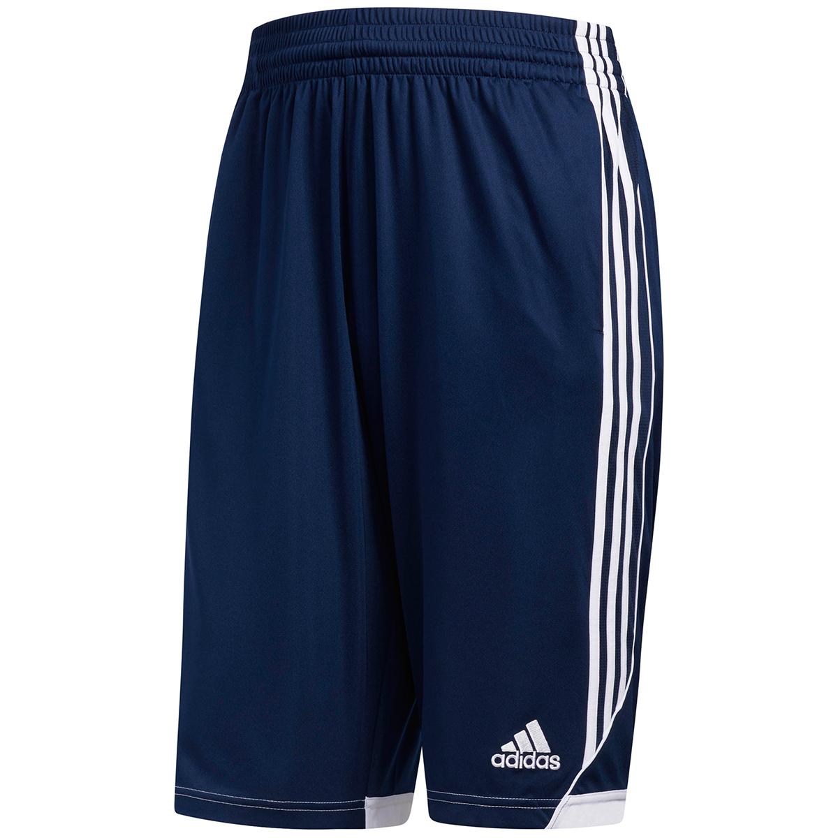 Adidas Men's 3G Speed Basketball Shorts - Blue, XXL