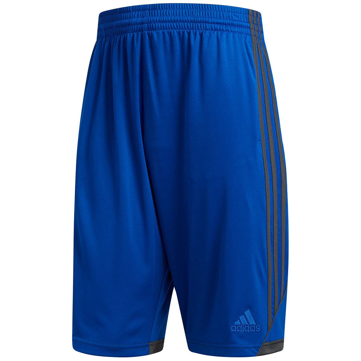 Adidas Men's 3G Speed Basketball Shorts - Blue, XL