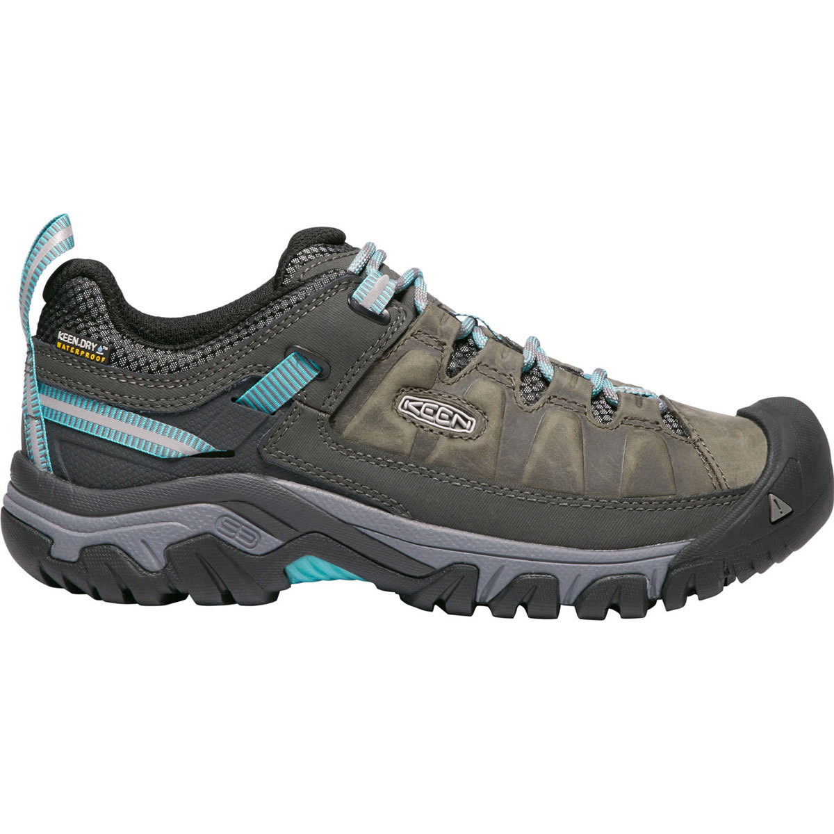 Keen Women's Targhee Iii Waterproof Low Hiking Shoes - Black, 8