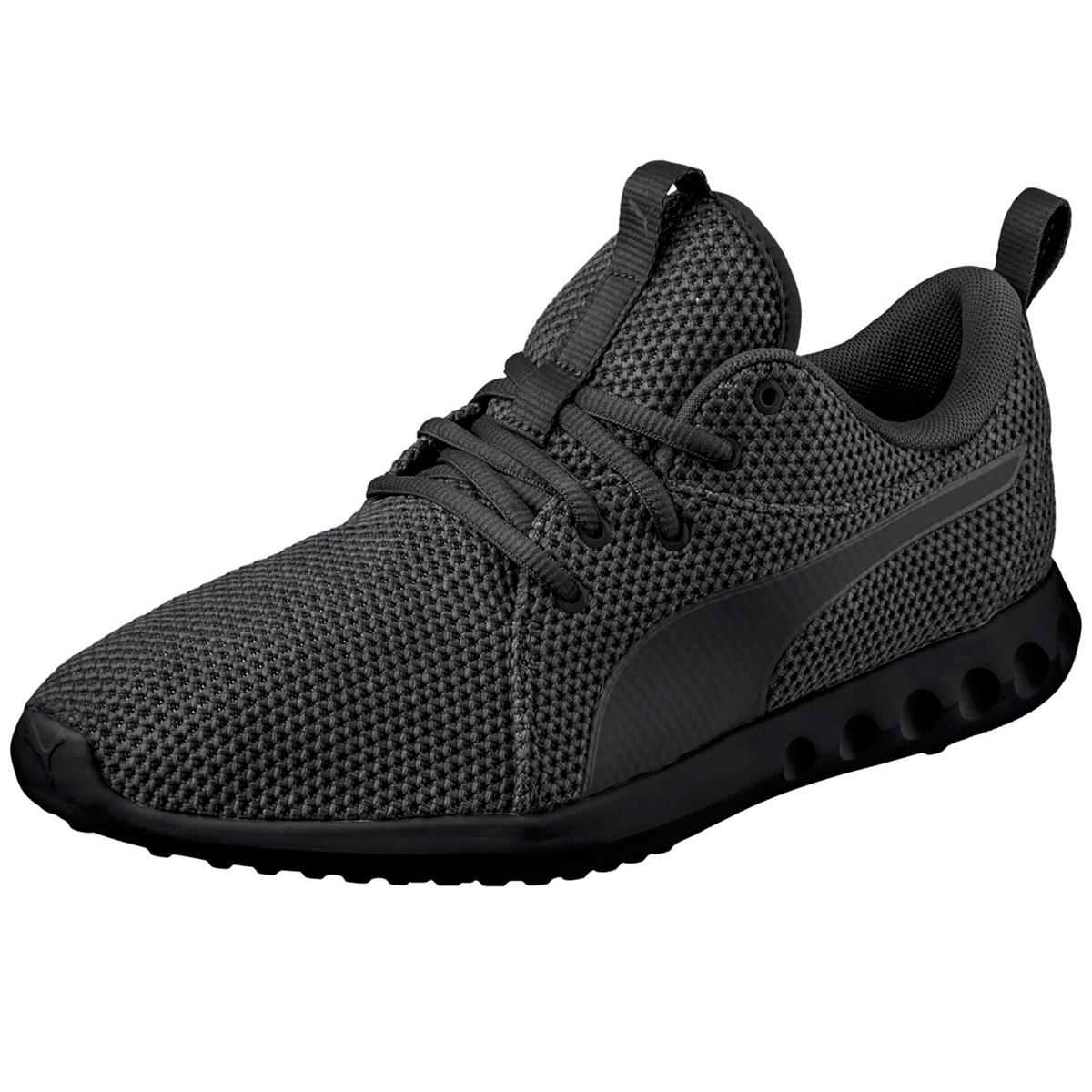 Puma Men's Carson 2 Nature Knit Running Shoes - Black, 9
