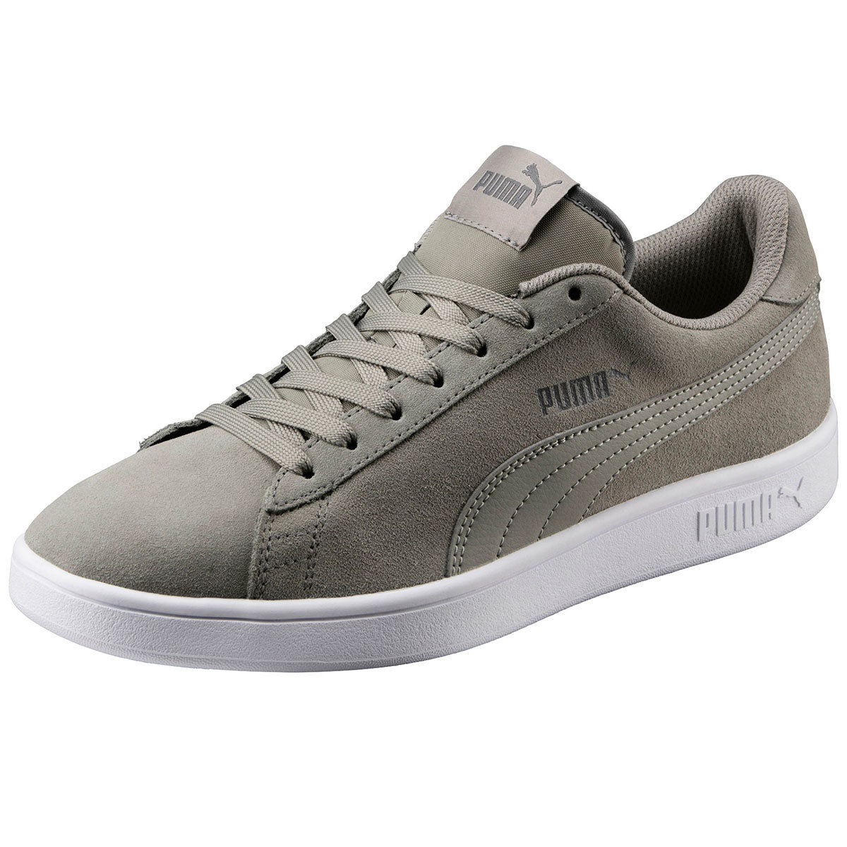 Puma Men's Smash V2 Sneakers - Black, 10