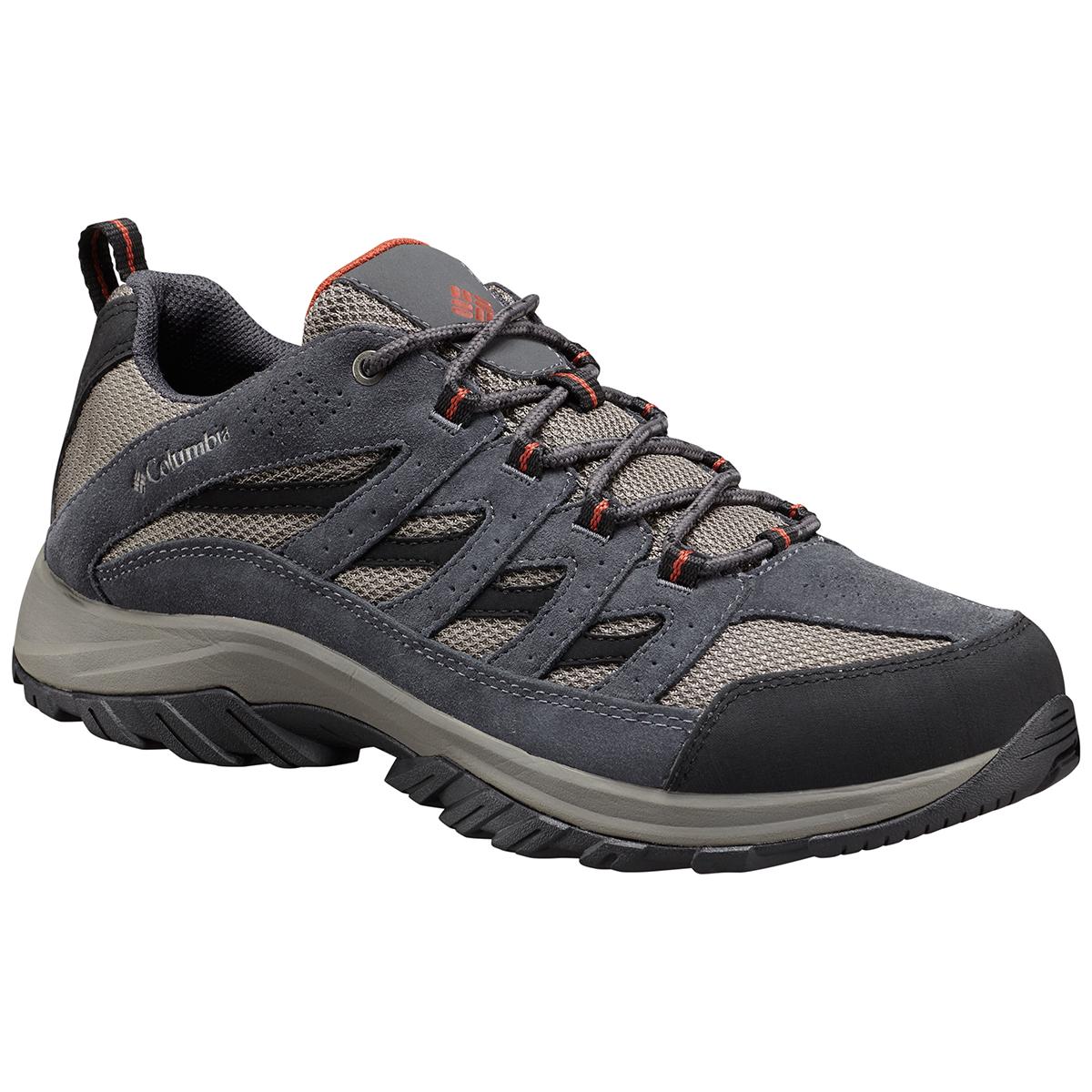 Columbia Men's Crestwood Low Waterproof Hiking Shoes - Black, 9