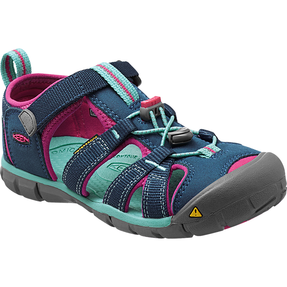 Keen Little Kids' Seacamp Ii Cnx Sandals - Blue, 13