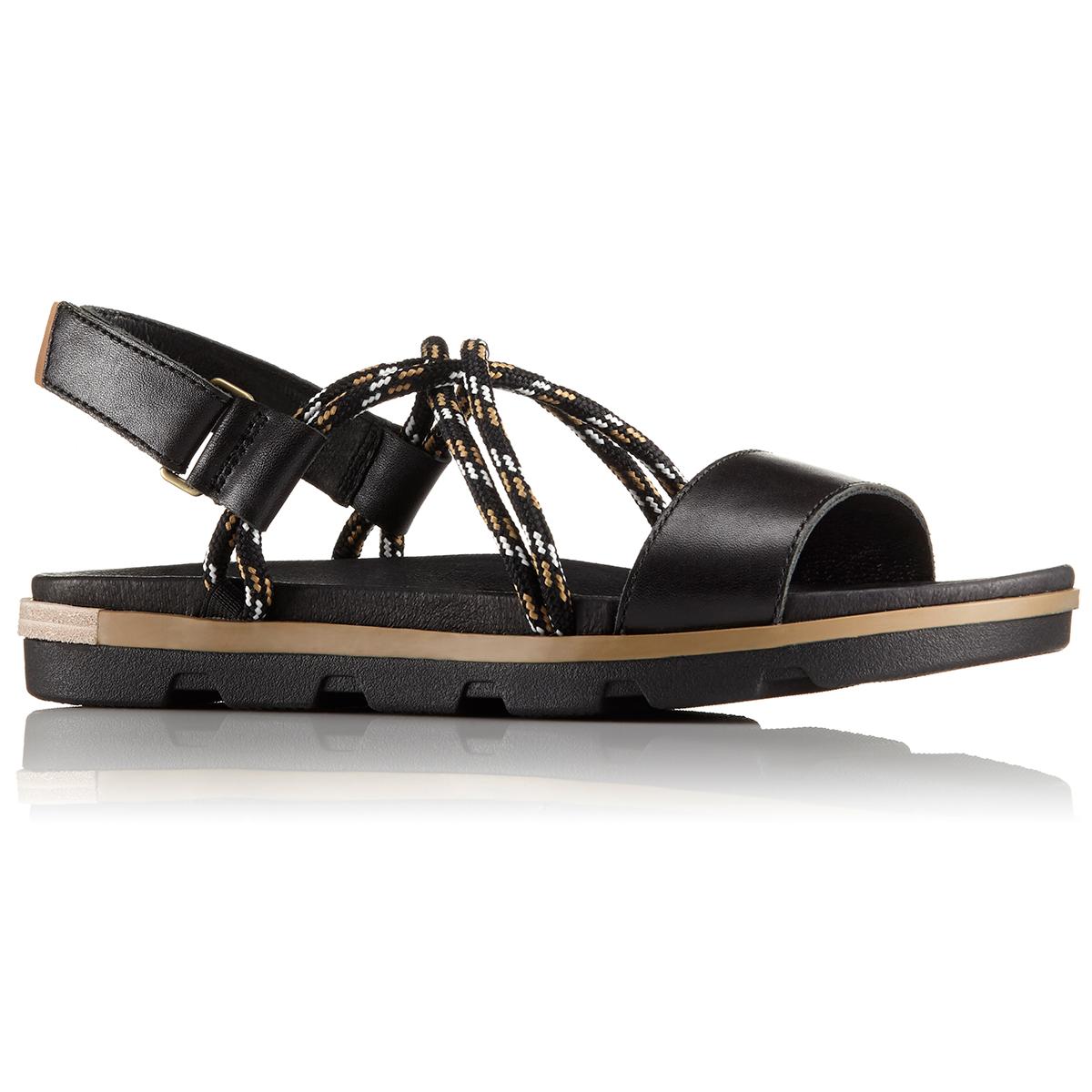 Sorel Women's Torpeda Ii Sandals - Black, 6.5