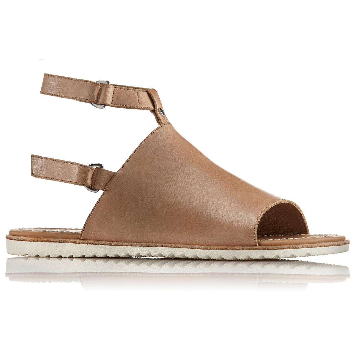 Sorel Women's Ella Mule Strap Sandals - Brown, 11