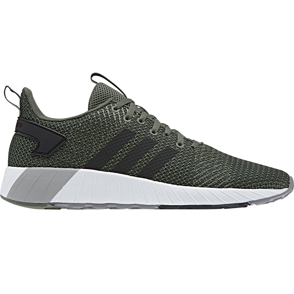 Adidas Men's Questar Byd Running Shoes - Green, 10