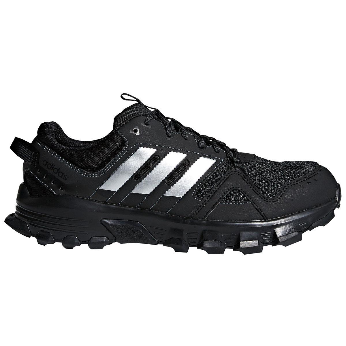 Adidas Men's Rockadia Trail Running Shoes, Wide - Black, 9