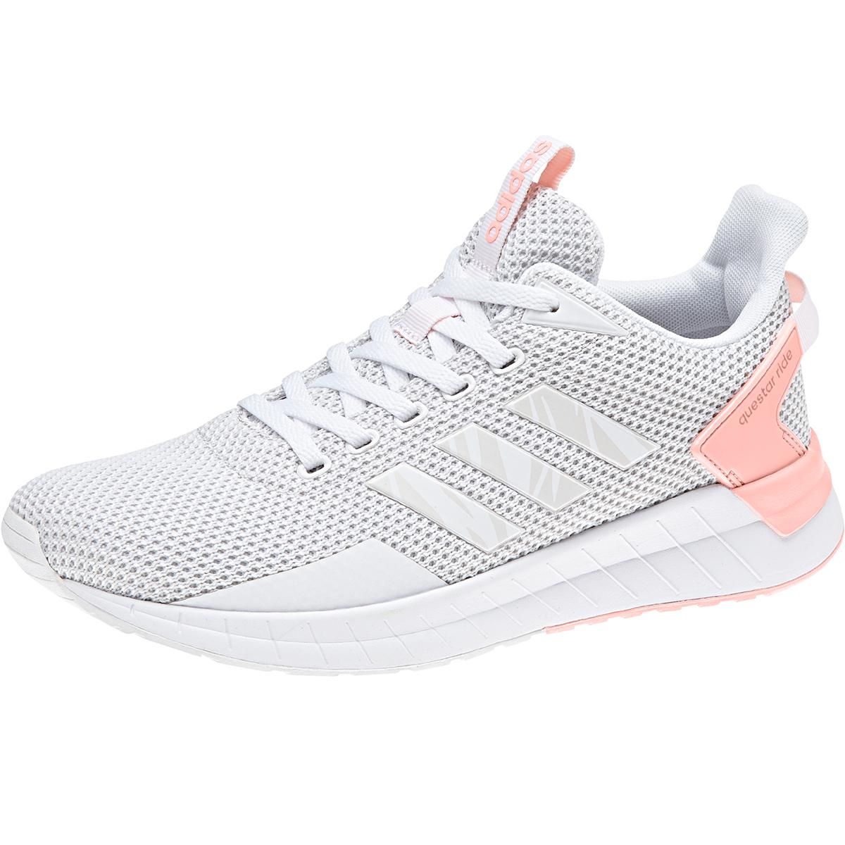 Adidas Women's Questar Ride Running Shoes - White, 9.5