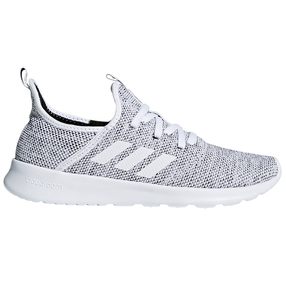 Adidas Women's Cloudfoam Pure Running Shoes - White, 6.5