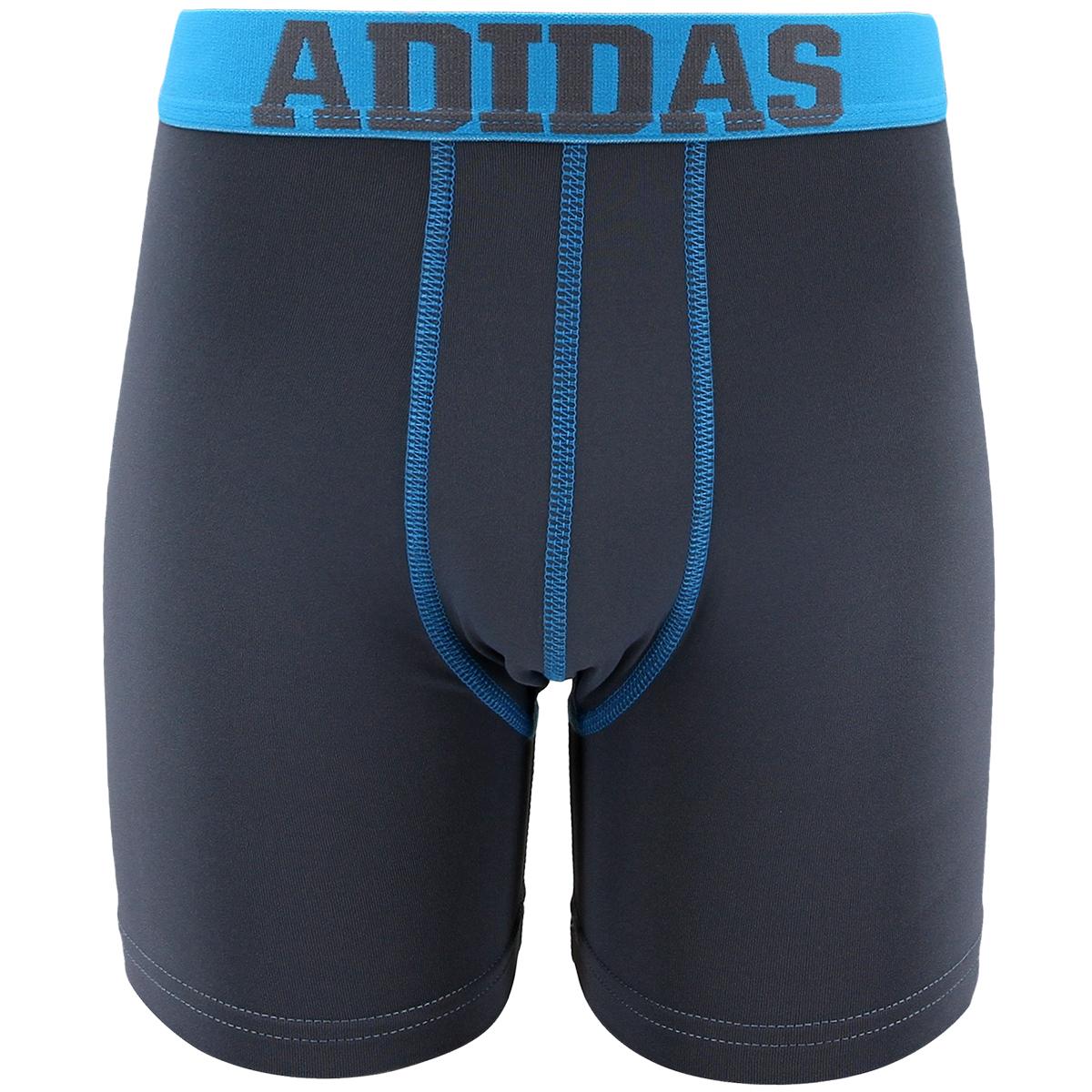 Adidas Big Boys' Climalite Boxer Briefs, 2-Pack - Black, XL