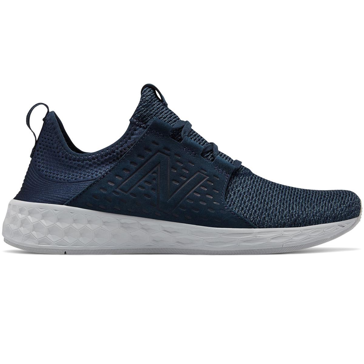 New Balance Men's Fresh Foam Cruz Retro Hoodie Running Shoes - Blue, 8
