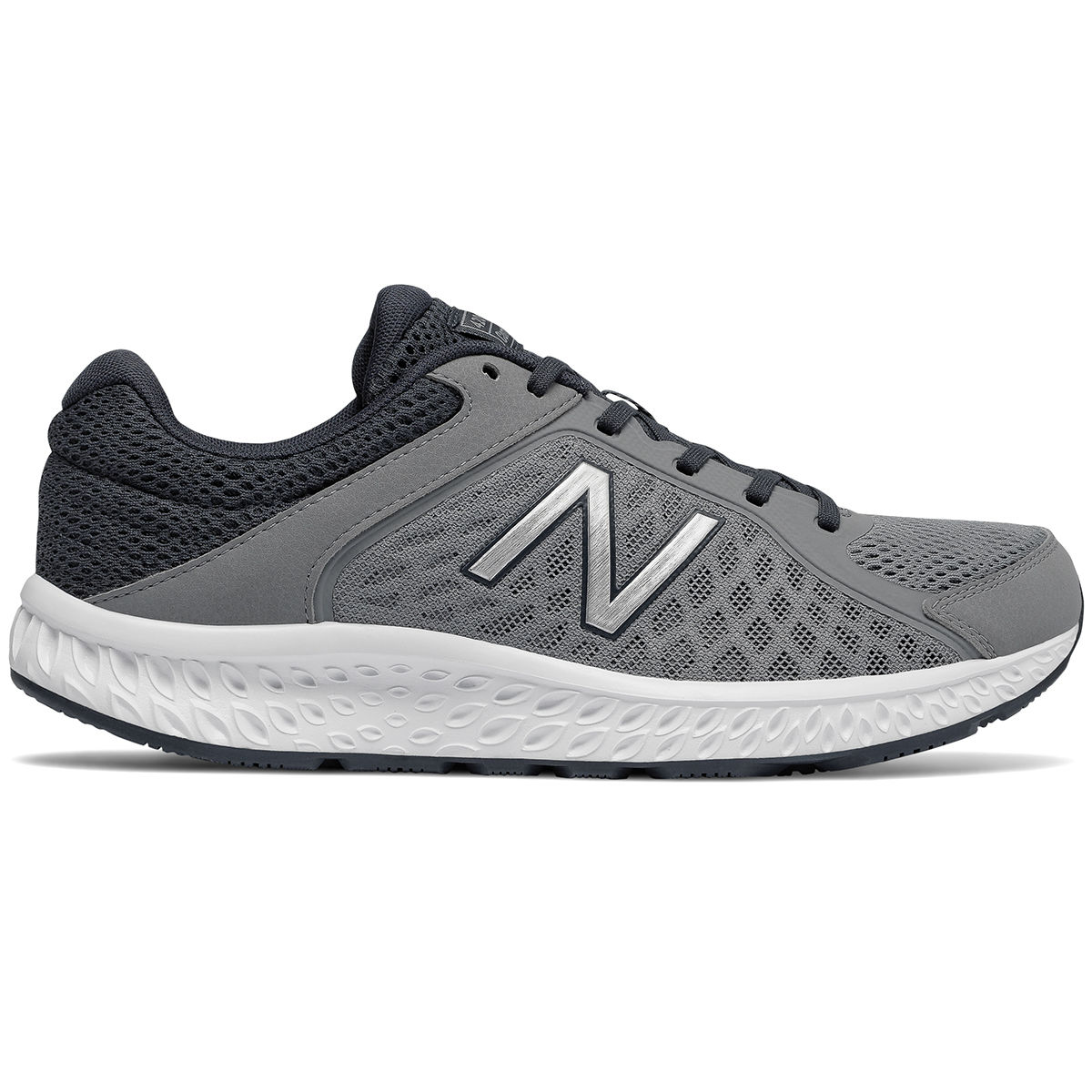 New Balance Men's 420V4 Running Shoes, Wide - Black, 11.5