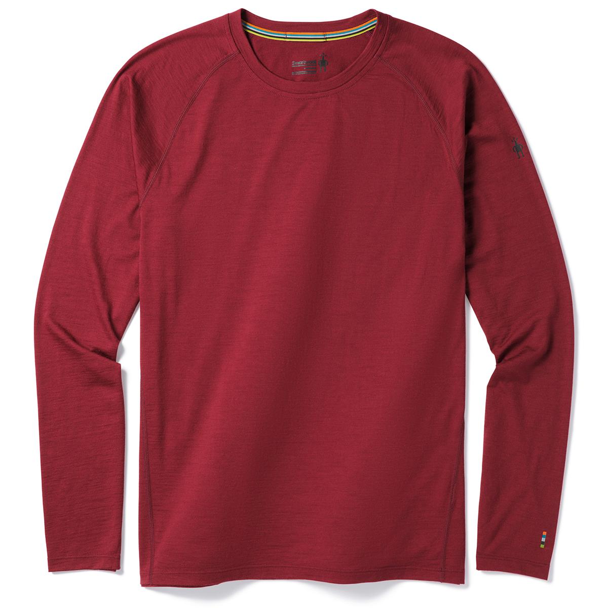 Smartwool Men's Merino 150 Long-Sleeve Baselayer Top - Red, M