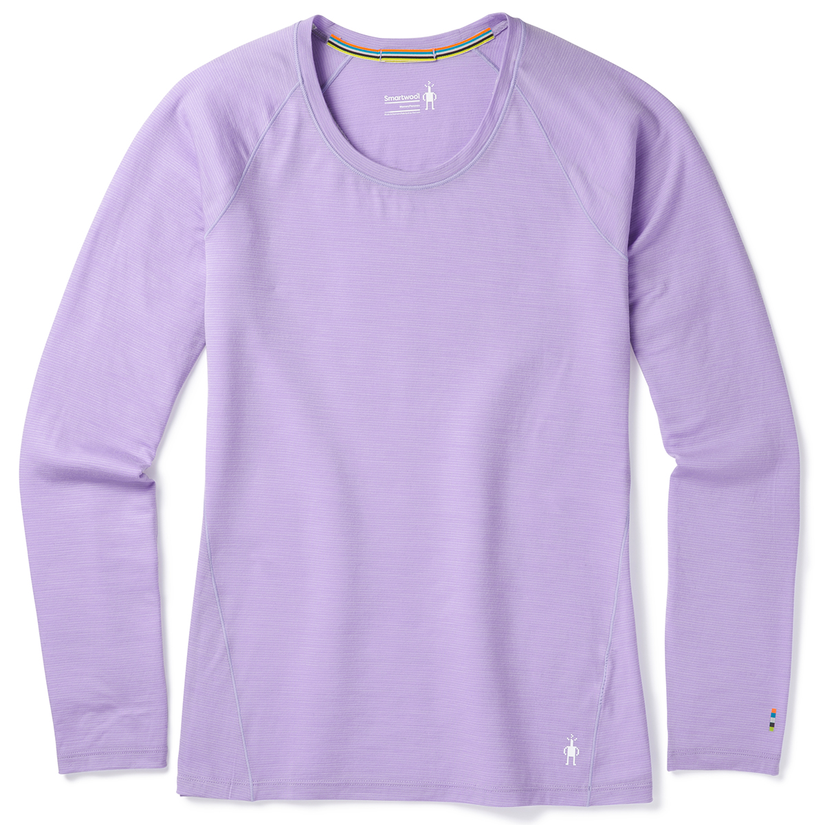 Smartwool Women's Merino 150 Pattern Long-Sleeve Base Layer - Purple, L
