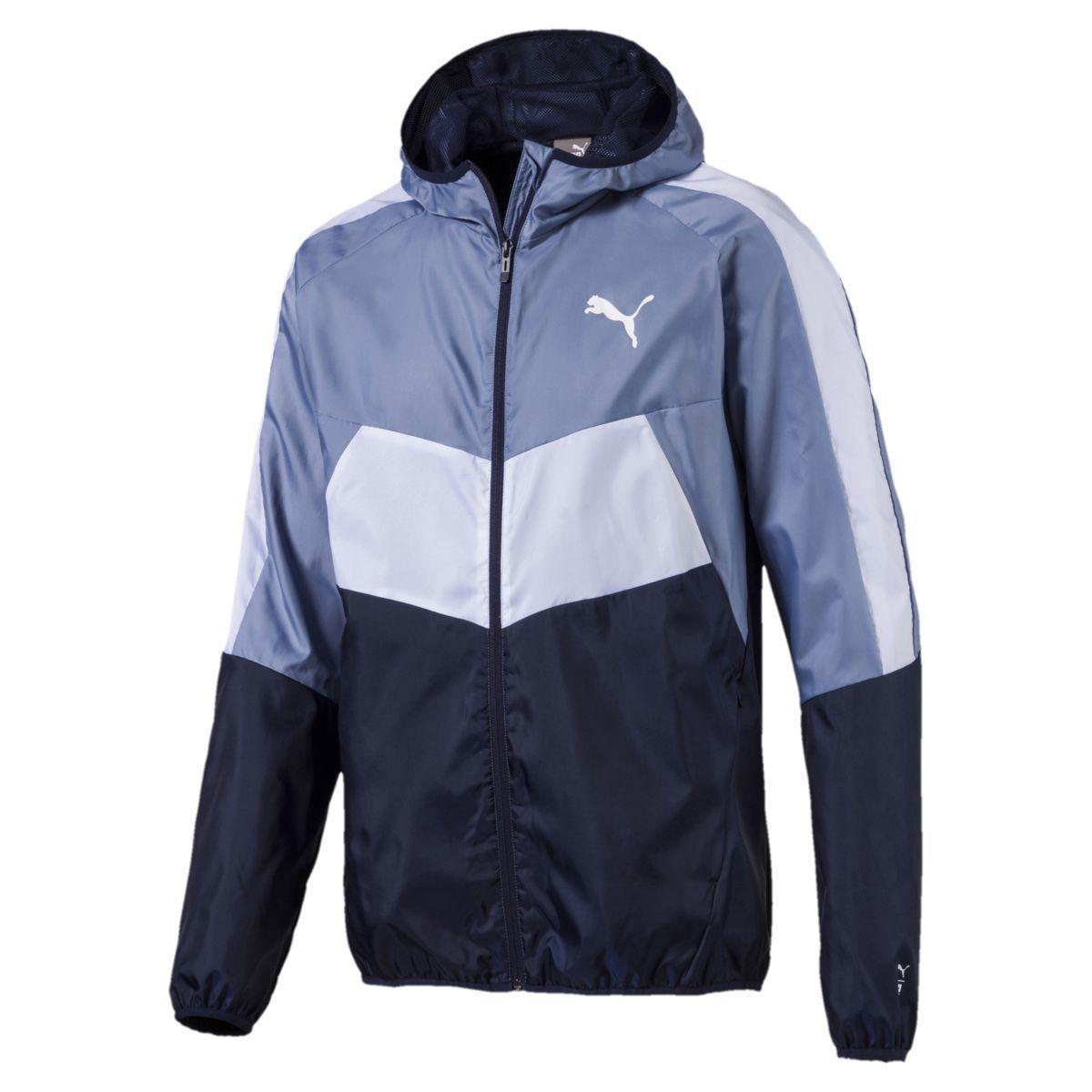 Puma Men's Essential Windbreaker Jacket - Black, L