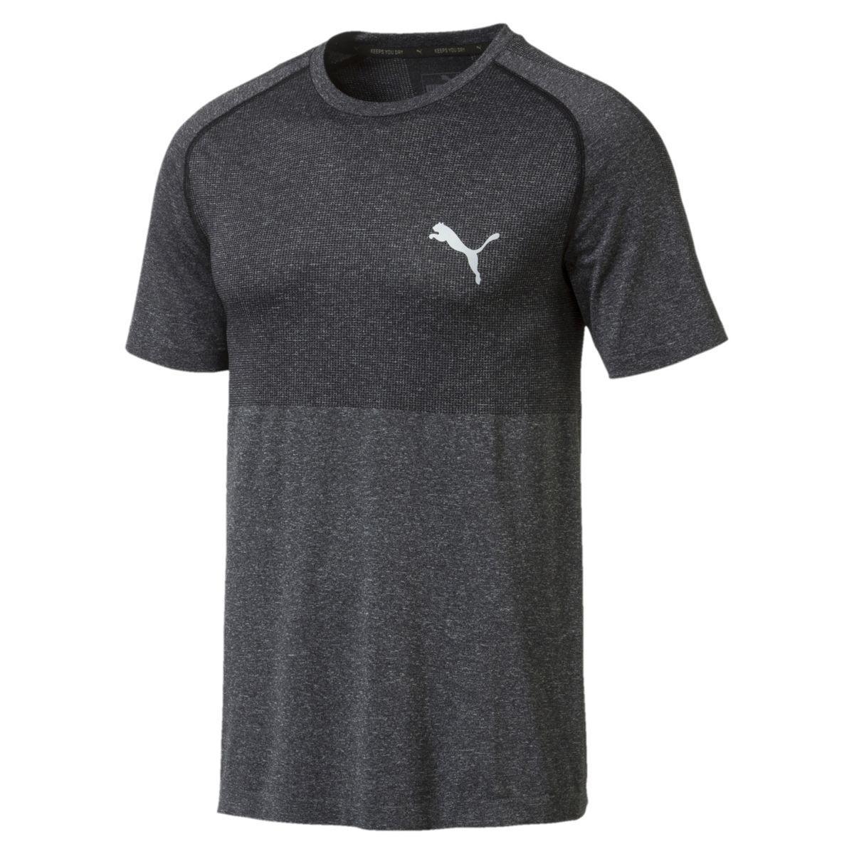 Puma Men's Evoknit Basic Tee - Black, XL