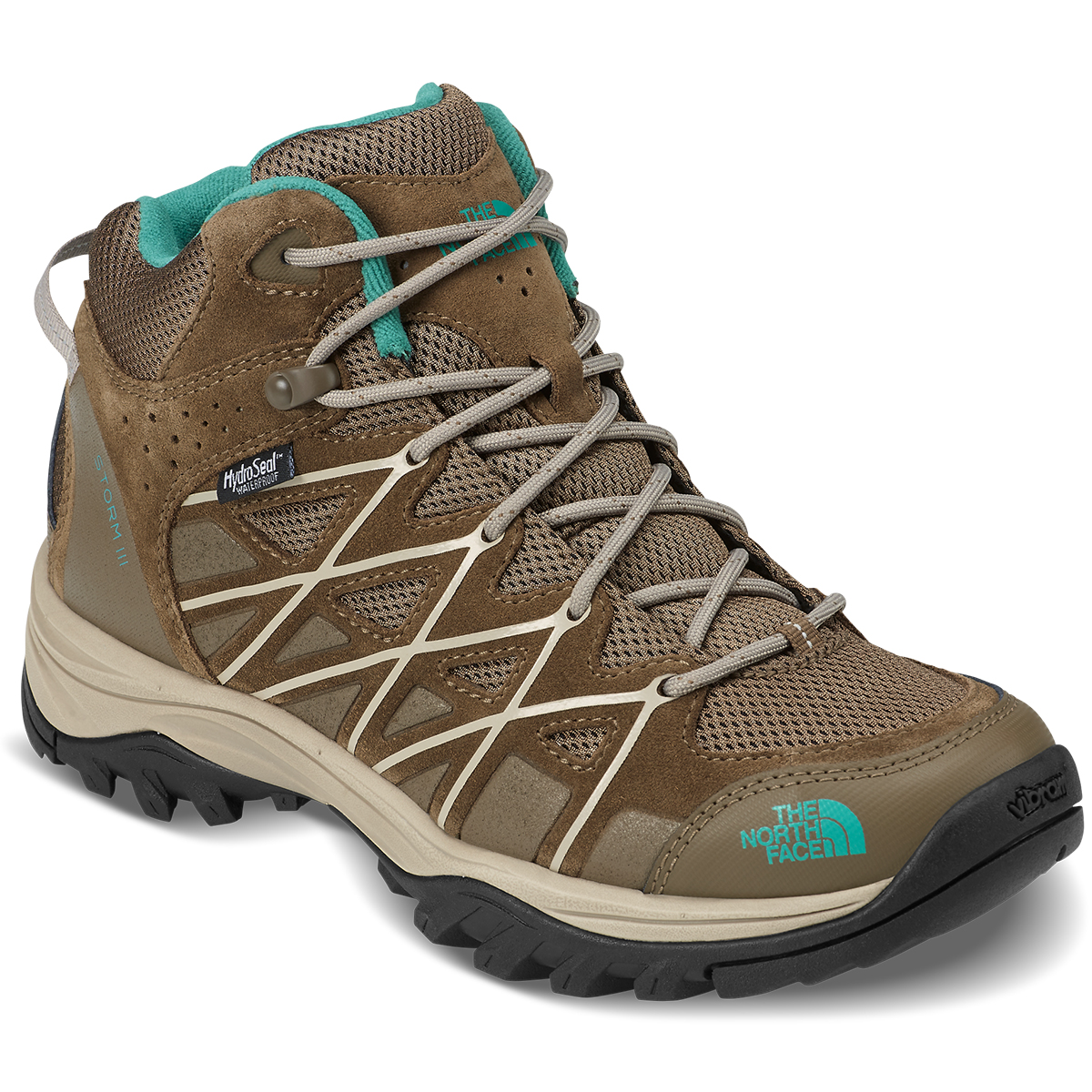 The North Face Women's Storm Iii Mid Waterproof Hiking Boots - Brown, 9.5