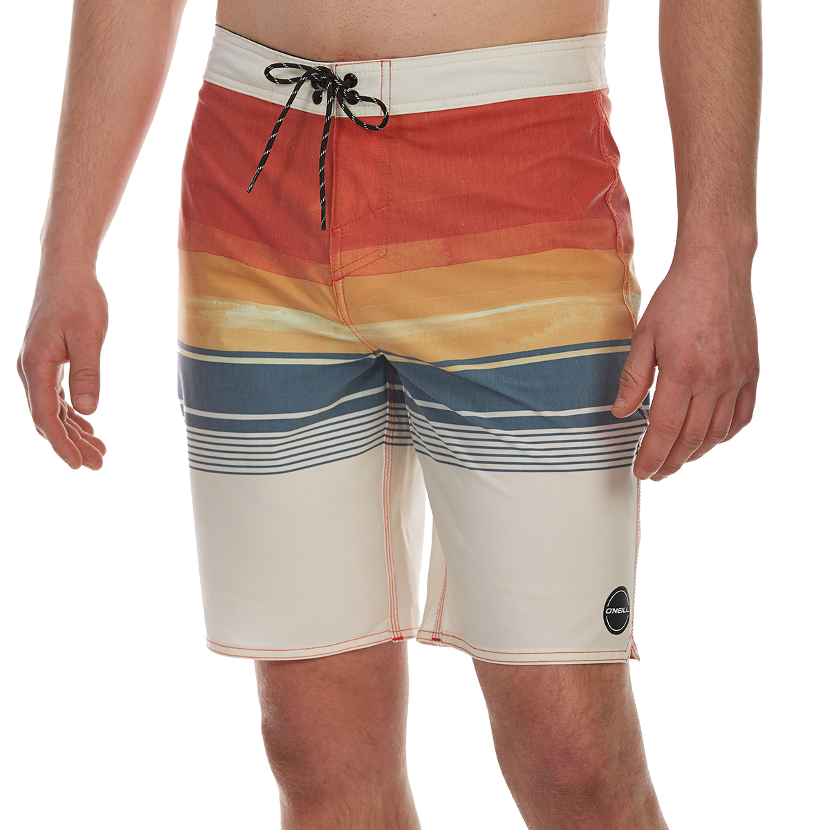 O'neill Guys' Informant Boardshorts - White, 32
