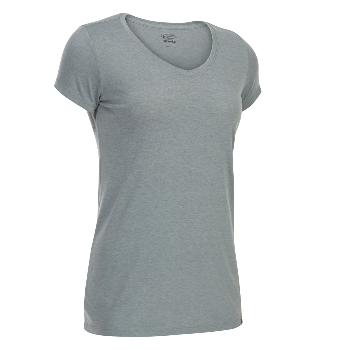 Ems Women's Techwick Vital V-Neck Short-Sleeve Tee - Black, XS