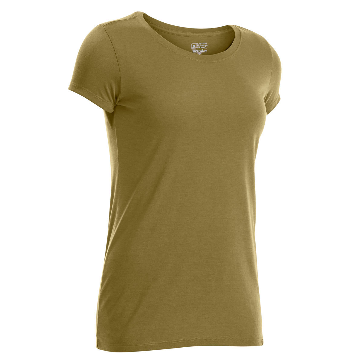 Ems Women's Techwick Vital Crew Short-Sleeve Tee - Green, M
