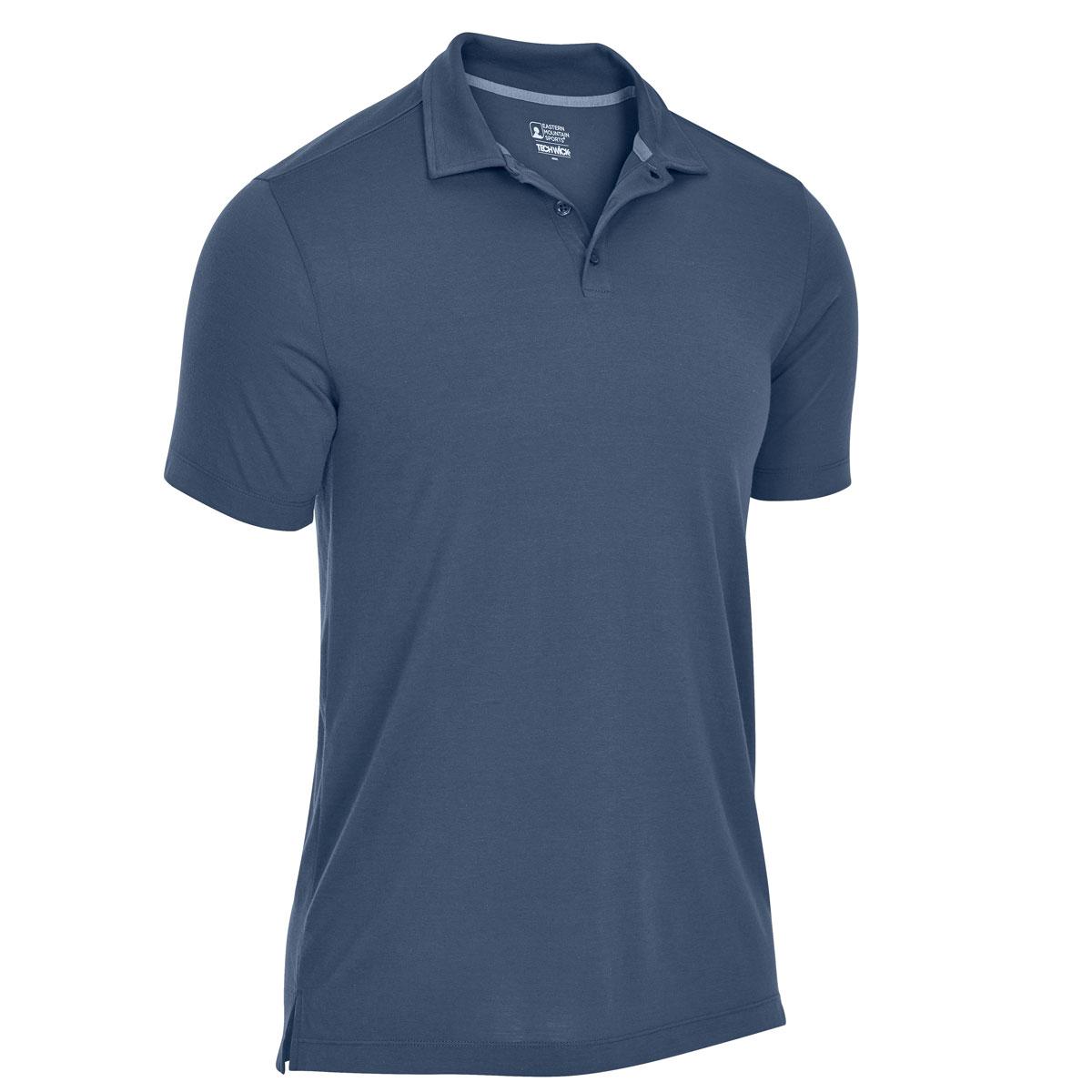 Ems Men's Techwick Vital Polo - Blue, M