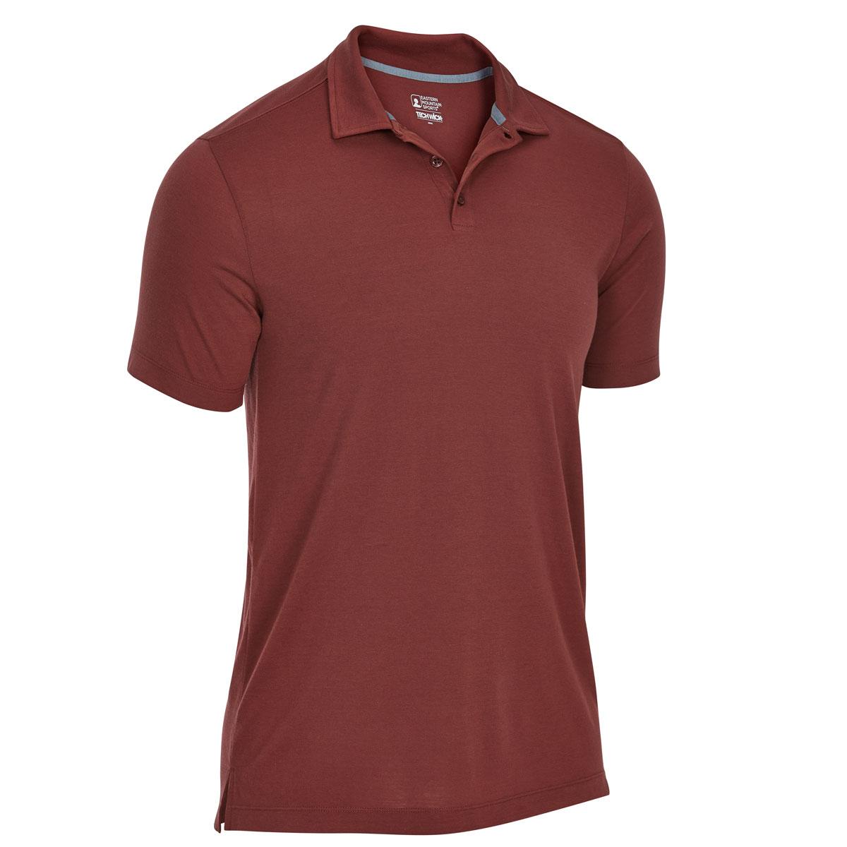 Ems Men's Techwick Vital Polo - Red, M