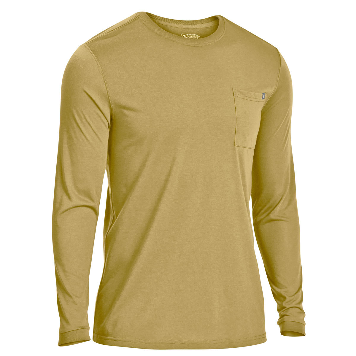 Ems Men's Techwick Vital Pocket Long-Sleeve Tee - Green, S