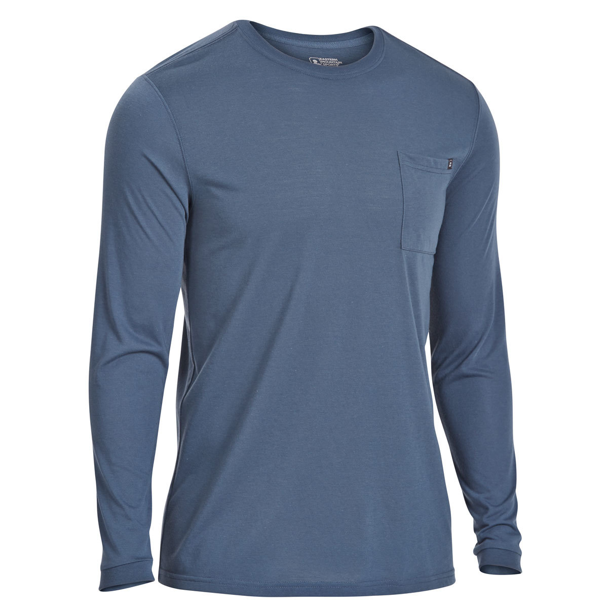 Ems Men's Techwick Vital Pocket Long-Sleeve Tee - Blue, XL