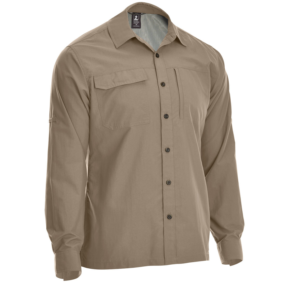 Ems Men's Trailhead Upf Long-Sleeve Shirt - Brown, XXL