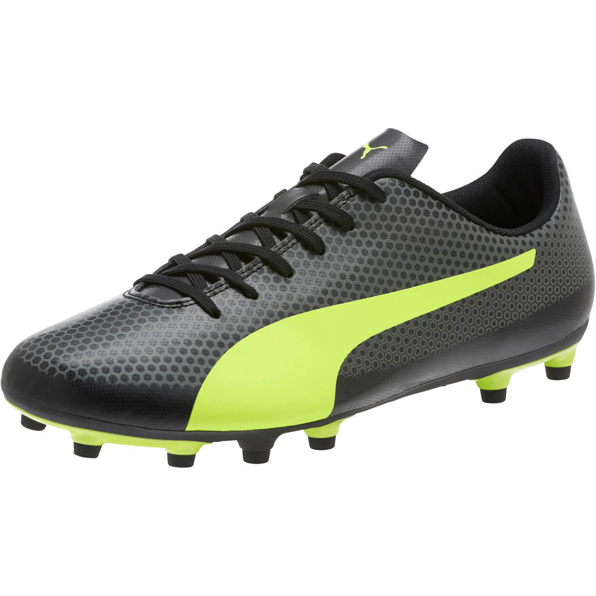 Puma Men's Spirit Fg Firm Ground Soccer Cleats - Black, 13