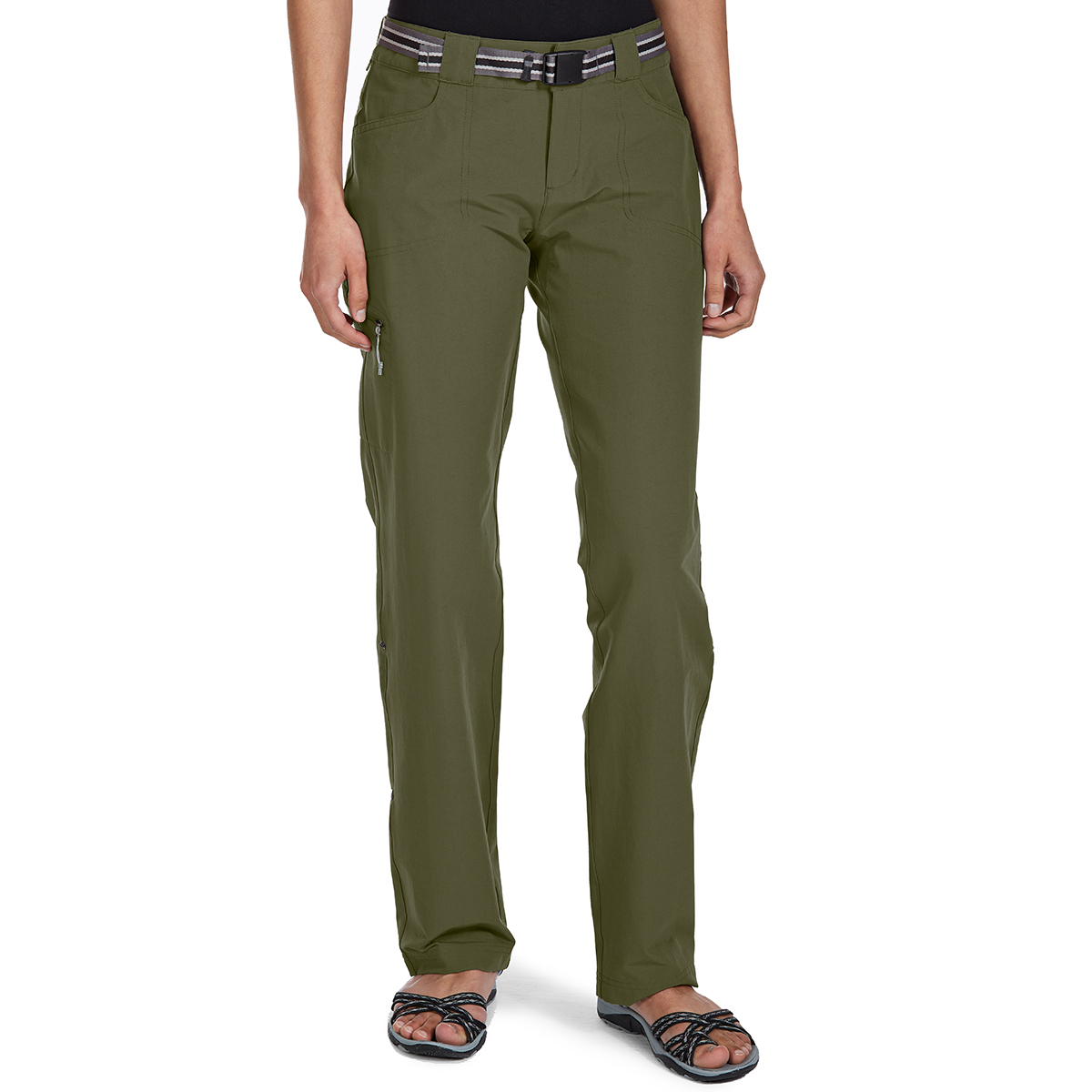 Ems Women's Compass Trek Pants - Green, 0/R