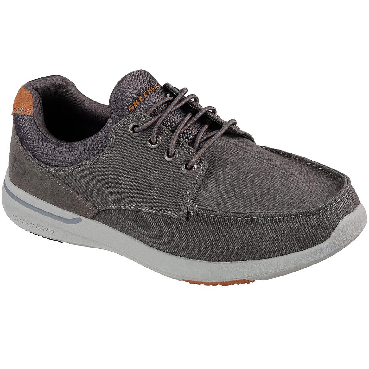 Skechers Men's Relaxed Fit: Elent- Mosen Boat Shoes - Black, 8.5