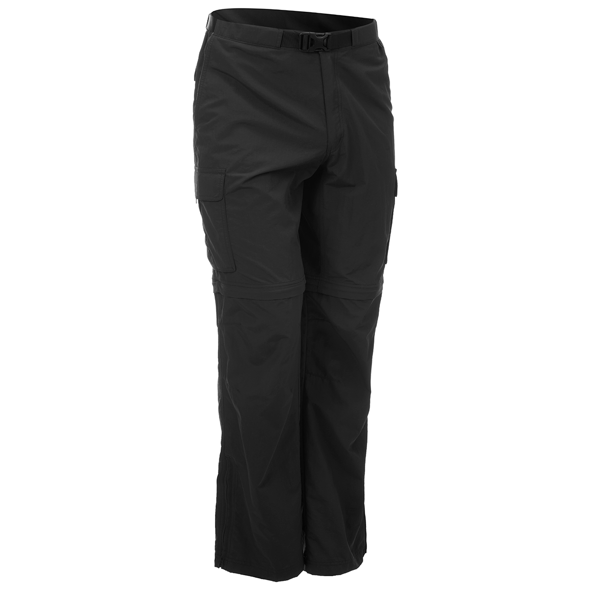 Ems Men's Camp Cargo Zip-Off Pants - Black, 42/32