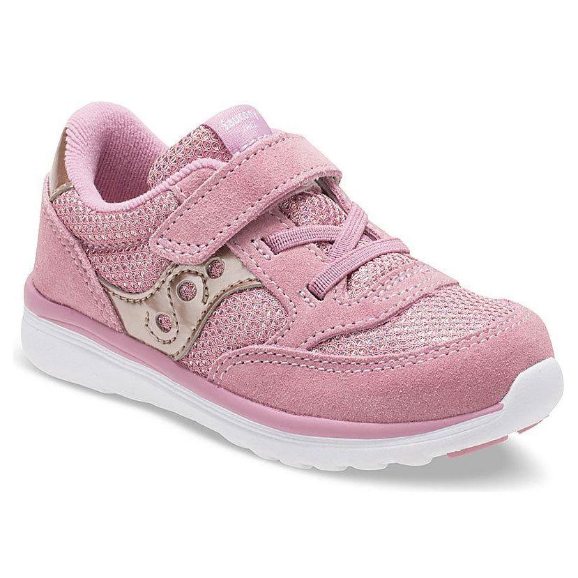 Saucony Toddler Girls' Baby Jazz Lite Sneakers - Red, 7
