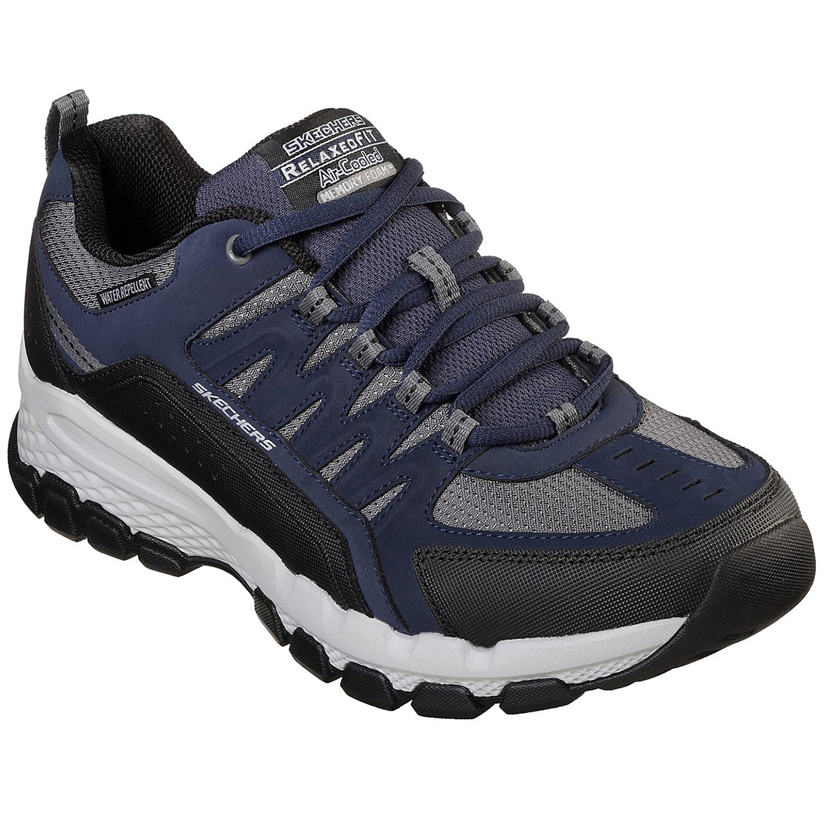 Skechers Men's Relaxed Fit: Outland 2.0 - Rip-Staver Sneakers - Blue, 9.5