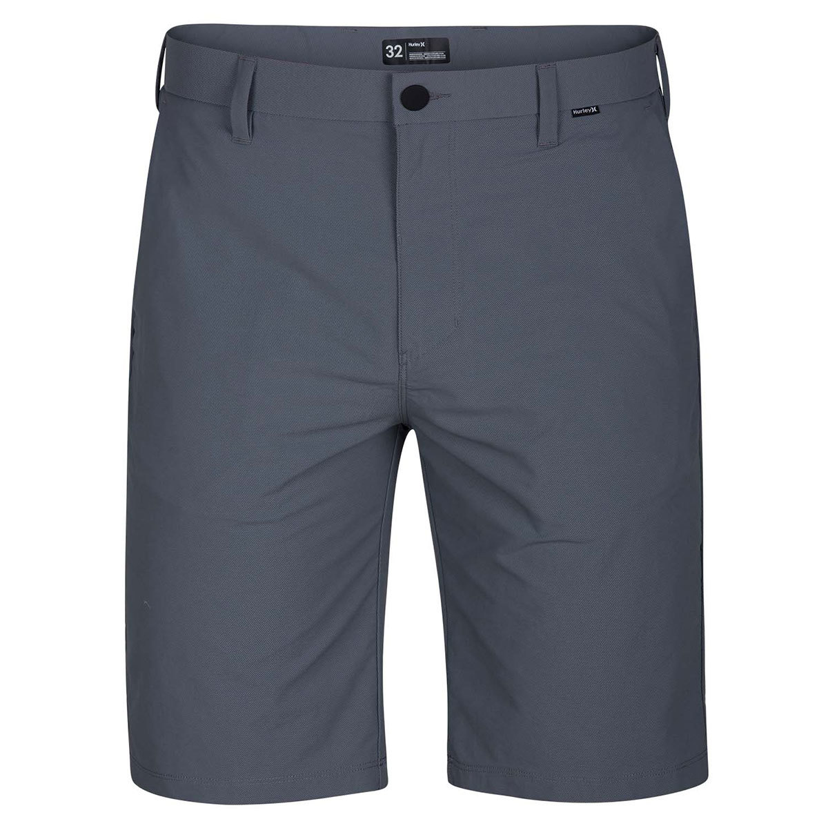 Hurley Guys' Dri-Fit Chino Shorts - Black, 36