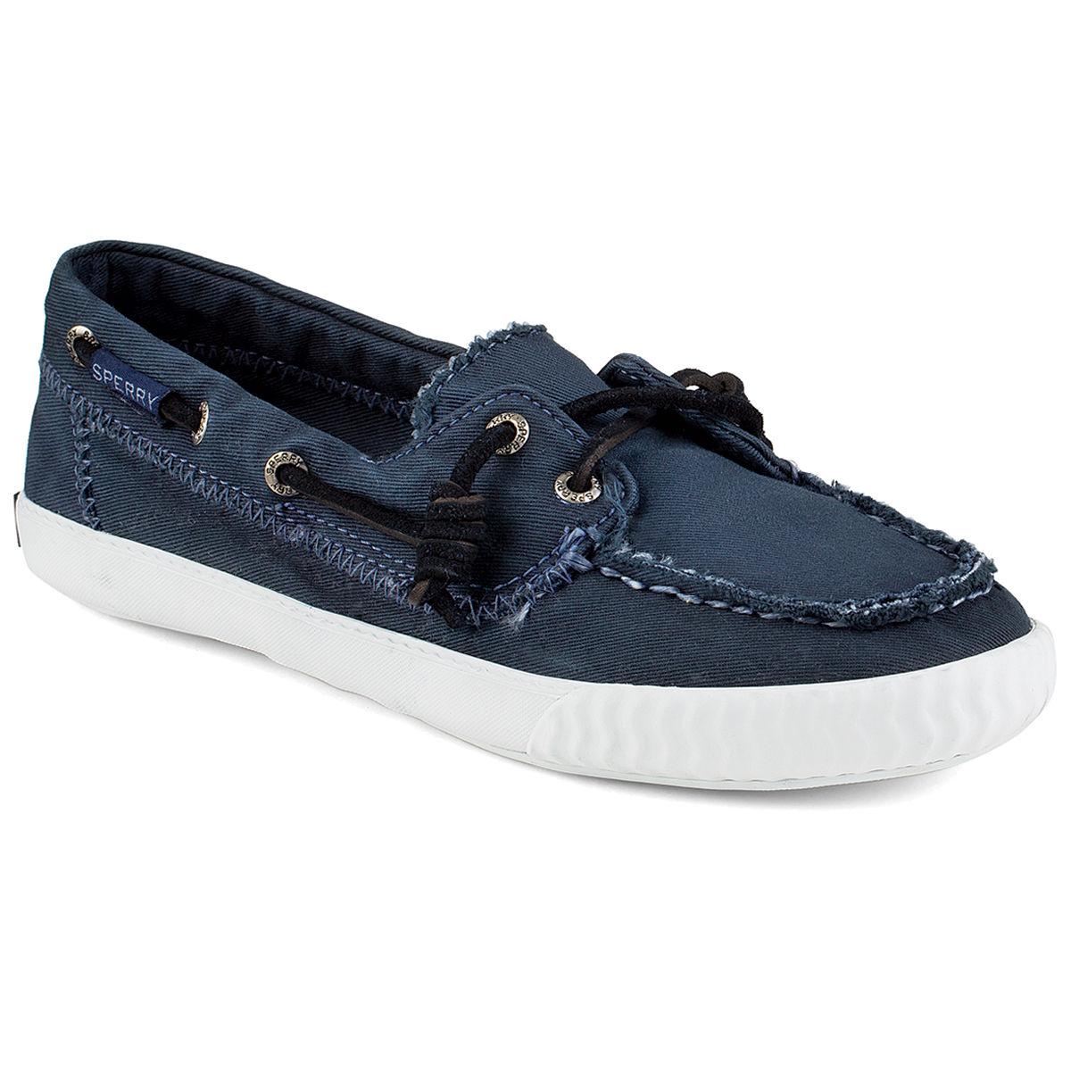 Sperry Women's Sayel Away Boat Shoe Sneakers - Blue, 6